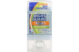 Right Guard Xtreme Defense 5 Fresh Blast