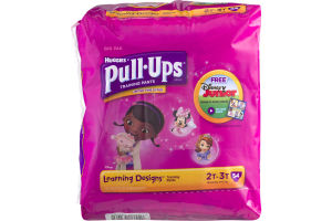 Huggies Pull-Ups Learning Designs Training Paints 2T-3T - 54 CT