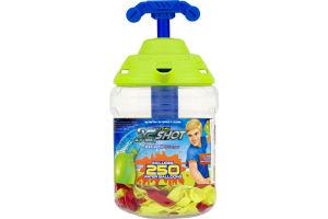 Zuru X Shot Rapid Fill Pumper Water Balloons - 250 CT