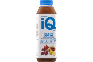 iQ Juice Detox With Pomegranate