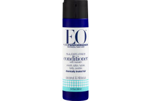 EO Pure Performance Sulfate-Free Conditioner Chemically Treated Hair Coconut & Hibiscus