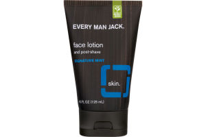 Every Man Jack Face Lotion And Post-Shave Signature Mint