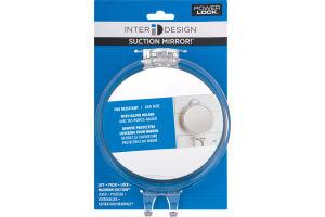 InterDesign Suction Mirror