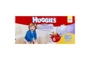 Huggies Little Movers Disney Baby Leak Lock Diapers Size 6 (Over 35 lb) - 84 CT