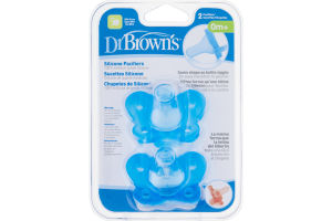 Dr Brown's Silicone Pacifiers - 2 CT