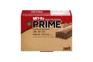 MET-Rx Prime Protein Bar Chocolate Brownie - 6 CT