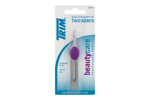 Trim Wide Grip Slant Tip Tweezers