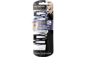 Vidal Sassoon Sure Grip Clix Animal Print - 6 CT