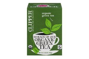 Clipper Organic Green Tea - 20 CT