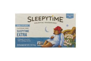 Sleepytime Celestial Seasonings Wellness Tea Caffeine Free - 20 CT