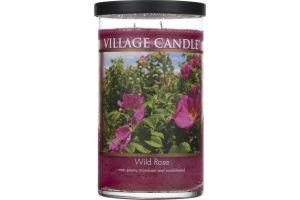 Village Candle Wild Rose