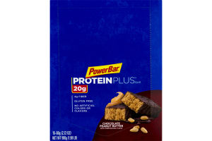 PowerBar Proteinplus Bar Chocolate Peanut Butter - 15 CT