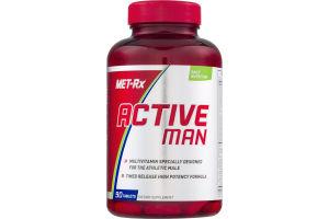 MET-Rx Active Man Dietary Supplement Tablets - 90 CT
