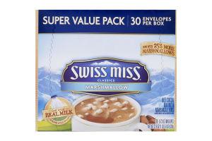 Swiss Miss Classics Hot Cocoa Mix Marshmallow - 30 CT