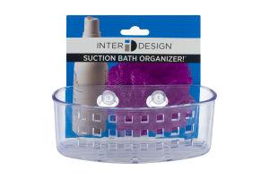 InterDesign Suction Bath Organizer