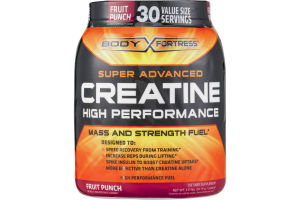 Body Fortress Super Advanced Creatine High Performance Dietary Supplement Fruit Punch