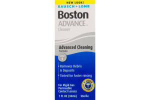 Bausch + Lomb Boston Advance Cleaner For Rigid Gas Permeable Contact Lenses