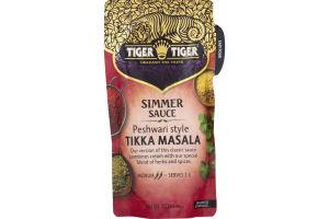 Tiger Tiger Simmer Sauce Peshwari Style Tikka Masala Medium