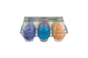 Almark Foods Eggs Hard Boiled Colored - 6 CT
