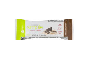 Perfectly Simple Nutrition Bar Oatmeal Chocolate Chunk