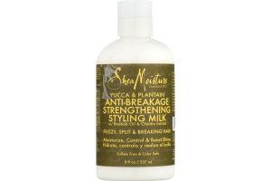 Shea Moisture Yucca & Plantain Anti-Breakage Strengthening Styling Milk
