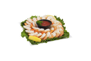 Chef Express Shrimp Tray with Cocktail Sauce