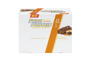 Pure Protein Soft Baked Protein Bar Double Chocolate Peanut Butter Crunch - 6 CT