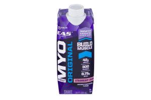 EAS MYO Original Build Muscle Shake Strawberry Cream