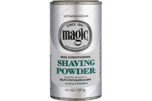 Magic Shaving Powder Skin Conditioning