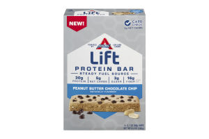 Atkins Life Protein Protein Bar Peanut Butter Chocolate Chip - 4 CT