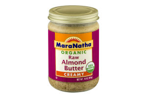 MaraNatha Raw Almond Butter Creamy
