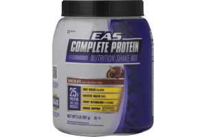 EAS Complete Protein Nutrition Shake Mix Chocolate