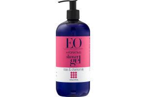 EO Hydrating Shower Gel Rose & Chamomile