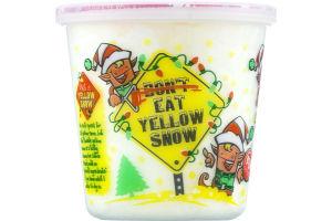 Fun Sweets Don't Eat Yellow Snow Cotton Candy Lemon-Ice