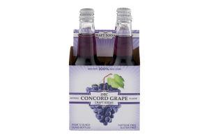 WBC Concord Grape Craft Sodas - 4 PK