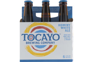 Tocayo Brewing Company Hominy White Ale - 6 CT