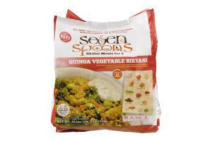 Seven Spoons Skillet Meals For 2 Quinoa Vegetable Biryani