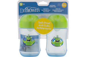 Dr. Brown's Soft Spout Toddler Cup 9m+ - 2 CT