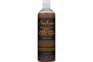 Shea Moisture African Black Soap 2-IN-1 Bubble Bath & Body Wash