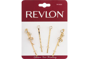 Revlon Coutoure Hair Accessory Slides - 4 CT
