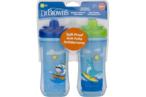 Dr Brown's Hard Spout Insulated Cups - 2 CT