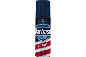 Barbasol Shaving Cream Thick & Rich Original