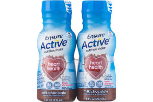 Ensure Active Nutrition Shake Milk Chocolate - 4 CT