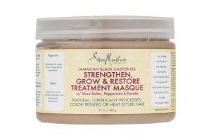 Shea Moisture Strengthen Grow & Restore Treatment Masque Jamaican Black Castor Oil