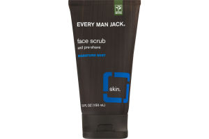 Every Man Jack Face Scrub And Pre-Shave Signature Mint