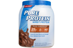 Pure Protein Whey Protein Rich Chocolate