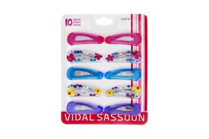 Vidal Sassoon Hair Clips- 10 CT