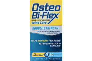 Osteo Bi-Flex Double Strength Joint Care Dietary Supplement with 5-Loxin Advanced - 50 CT