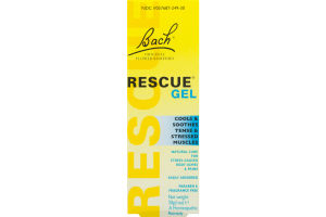 Bach Rescue Gel Cools & Soothes Tense & Stressed Muscles