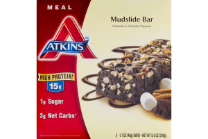 Atkins Mudslide Bar - 5 CT
